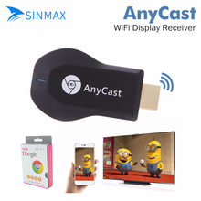 HD 1080P AnyCast M2 Plus Airplay Wifi Display TV Dongle Receiver AM8252 DLNA Easy Sharing Mini TV Stick for Android IOS WINDOWS