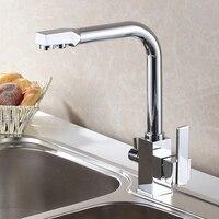 SHAI Waterfilter Taps Kitchen Faucets Brass Mixer Drinking Kitchen Purify Faucet Kitchen Sink Tap Water Tap Crane For Kitchen