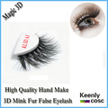 Fastest Shipping! Manufacturer hand make mink lashes silk siberia mink false eyelash extension/3D eyelash extension