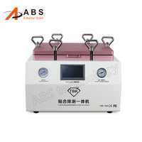 TBK 2 in 1 OCA Vacuum Laminating machine Remover Machine Debubbler Integrated touch screen repair machine support 15 Inch