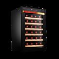 Fuxin armoire à vin rouge 28 bouteilles de barre de glace thermostatique électronique ménage Mini armoire à cigares réfrigérée Cool Mini réfrigérateur
