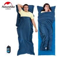 Naturehike Ultralight Portable Splicing Envelope Sleeping Bag Liner Cotton Lazy Bag Outdoor Camping Hiking Travel Sleeping