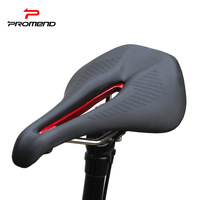 Widen Bicycle saddle Breathable Triathlon Cycling Hollow Saddle Seat MTB Road Racing Bike Saddles Sponge Soft Cushion Black 257g