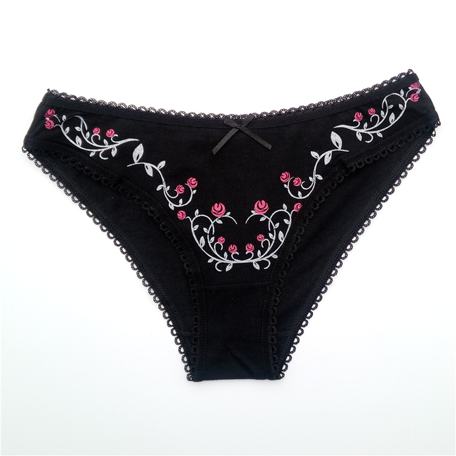 Women's cotton panties Girl Briefs Ms. cotton thong