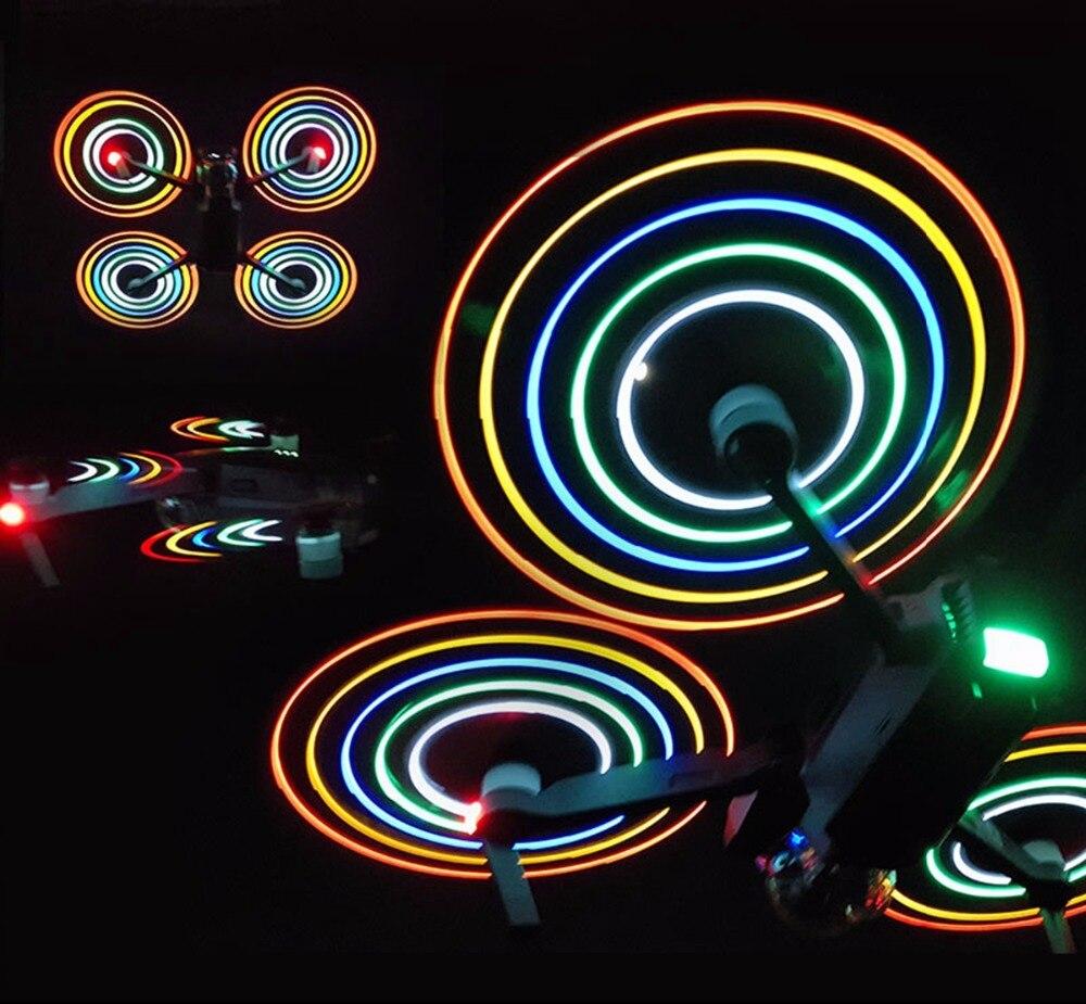 4pcs DJI font b Mavic b font font b Pro b font LED Light Flash Propellers