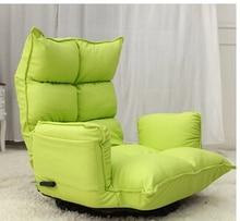 Lazy sofa. Single folding sofa bed.
