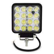 1pc free shipping suv 4x4 offroad 48W led work light for truck,12V 4x4 Driving Lights Spotlights tractor offroad lights