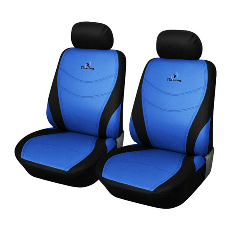 universal front car seat cover set protect car seat sedans covers interior accessories for ford. Black Bedroom Furniture Sets. Home Design Ideas