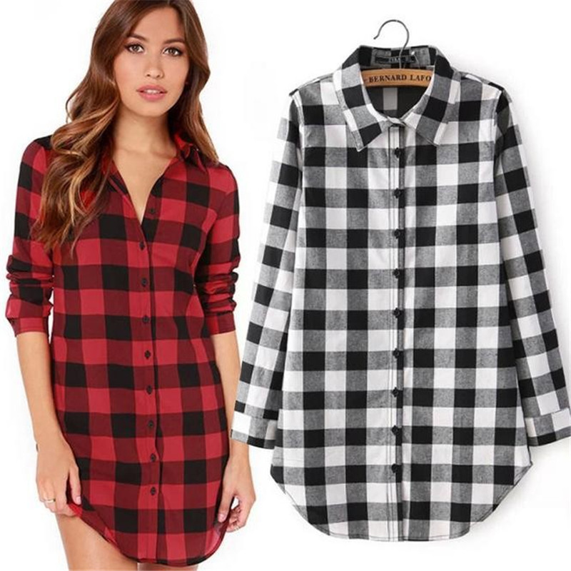 Popular Plaid Shirt Jacket-Buy Cheap Plaid Shirt Jacket lots from ...
