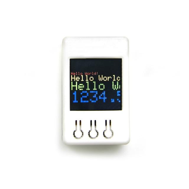 TTGO TS V1.2 DIY Boîte ESP32 1.44 pouces 128*128 TFT MicroSD fente pour carte haut-parleurs Bluetooth wifi module