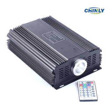 DMX 75W RGB LED Fiber Optic Engine Driver+28key RF Remote controller for all kinds fiber optics - DISCOUNT ITEM  33% OFF All Category