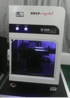 LY 2D/3D laser engraving machine special for inner crystal,working range 150*200*80 mm laser router to Russia free tax