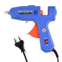 Industrial 60W 100W EU Plug Hot Melt Glue Gun With Free 1pc 11mm Stick Heat Temperature