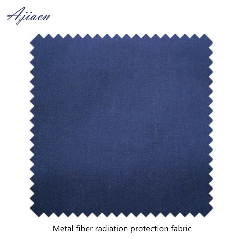Ajiacn Recommend Electromagnetic Radiation Protective Metal Fiber Fabric EMF Shielding High Quality Metal Fiber Cloth