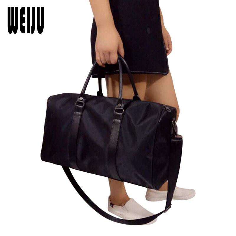 weiju mulheres travel bolsa preto Bolsa de Viagem : Duffle do Curso