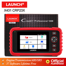 Launch X431 CRP123X OBD2 Scanner OBDII Diagnostic Tool Auto Code Reader ABS SRS Engine Transmission CRP123 X OBD Free GIFT CR319 2017 new launch x431 easydiag 2 0 obd2 bluetooth adapter original launch easydiag free diagnostic cable for android ios as gift