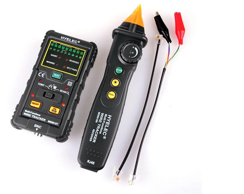 Pro RJ45 RJ11 Network Cable Wire Tracker Telephone Line Tester