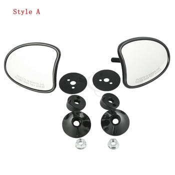 10mm Inner Fairing Mount Mirrors For Harley Touring Batwing Fairing Street Glide Tri Glide Ultra Limited 2014-2017 15 1