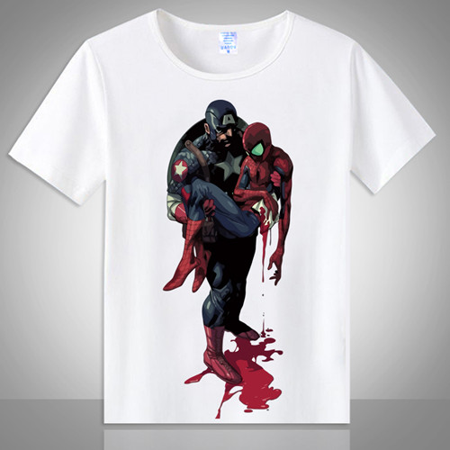 CostumeBuy Superhero Spiderman Poison Avengers T Shirt Men Women Short Sleeve Basic Tees shirt Print Casual T-Shirt Tops