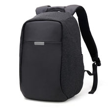 New Korean men's large-capacity backpack Oxford anti-theft laptop's wear-resistant, lightening, waterproof tablet laptop bag(China)