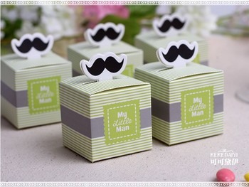 """wedding favor candy box -- """"My Little Man"""" Favor Boxes Baby Shower Party sweet favor Gift Box 300pcs/lot"""
