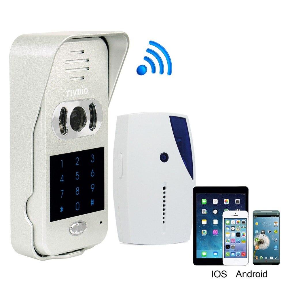 Smart Home Doorbell Wi-Fi Enabled Video Doorbell Video Door Phone Wireless Intercom IR Vision Night F9502DSmart Home Doorbell Wi-Fi Enabled Video Doorbell Video Door Phone Wireless Intercom IR Vision Night F9502D