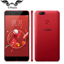 Original Nubia Z17 Mini 4G LTE Mobile Phone 4GB RAM 64GB ROM 5.2 inch 1920 x 1080px Front 16MP Dual Rear 13.0MP Fingerprint NFC