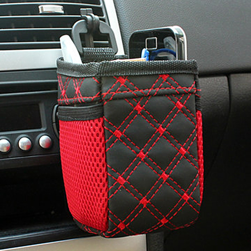 Hot Auto Car net Storage bag Mobile Phone Pocket car Organizer hanging Bag Holder Accessory цена