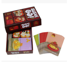 Sushi Go! Board Game The Pick And Pass Cards Game 2-5 Players Family Game For Children With Parents Free Shipping