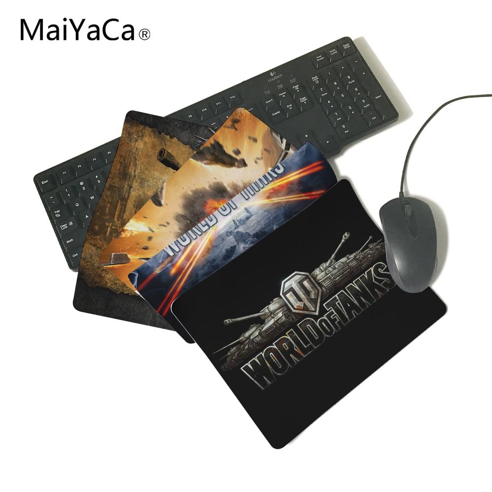 MaiYaCa העולם של טנקים לוגו מחשב עכבר Pad - ציוד היקפי למחשב