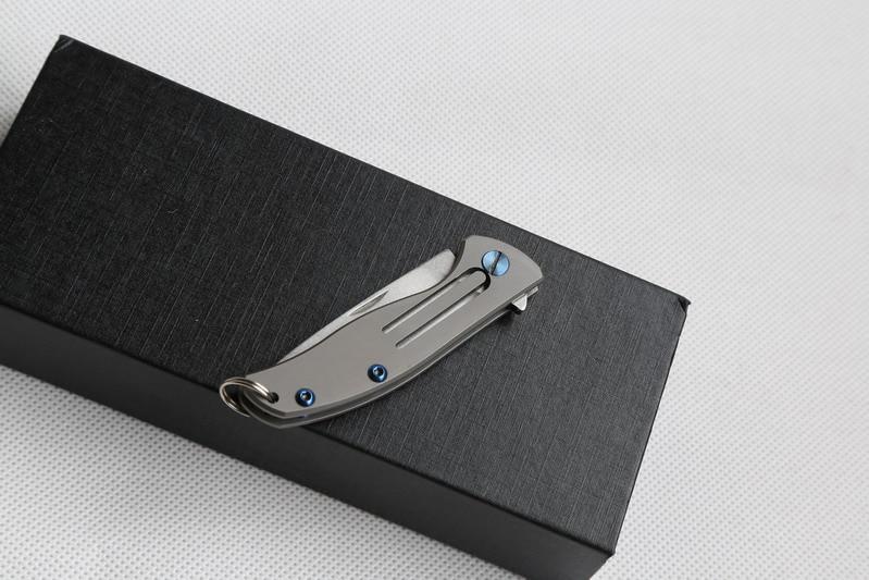 JUFULE pagamintas MIni mažas F95 stiliaus D2 peiliukas Bear 95 - Rankiniai įrankiai - Nuotrauka 4
