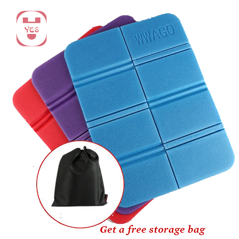 Portable Outdoor Folding Chair Ultra Light Camping Mat EVA Waterproof Foam Seat Pad Moisture-proof Picnic Beach Chair Cushion