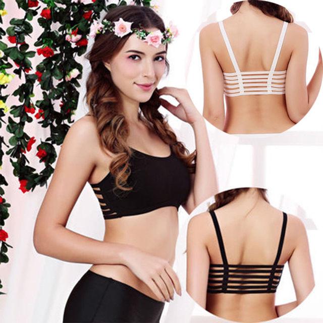 829f72d6f7292 2018 Brand New Women Strapless Sexy Bralette Bralet Bra Bustier Crop Tops  Cami Tank Tops Vest