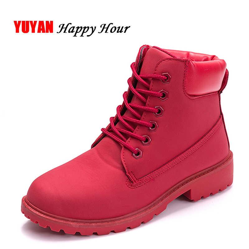 d4b8243d Новинка 2019, осенне-зимняя обувь, женские зимние ботинки, нескользящая  теплая обувь на