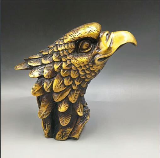 Recueillir la Statue animale daigle en Bronze chinois FengshuiRecueillir la Statue animale daigle en Bronze chinois Fengshui