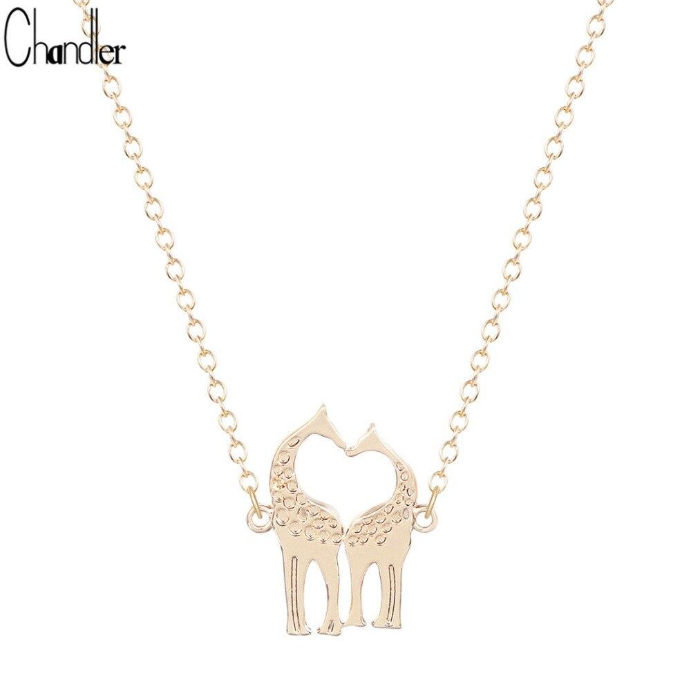 Gold Giraffe Necklace