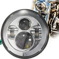 """7"""" Motorcycle Projector Daymaker LED Light Headlight For Harley Touring"""