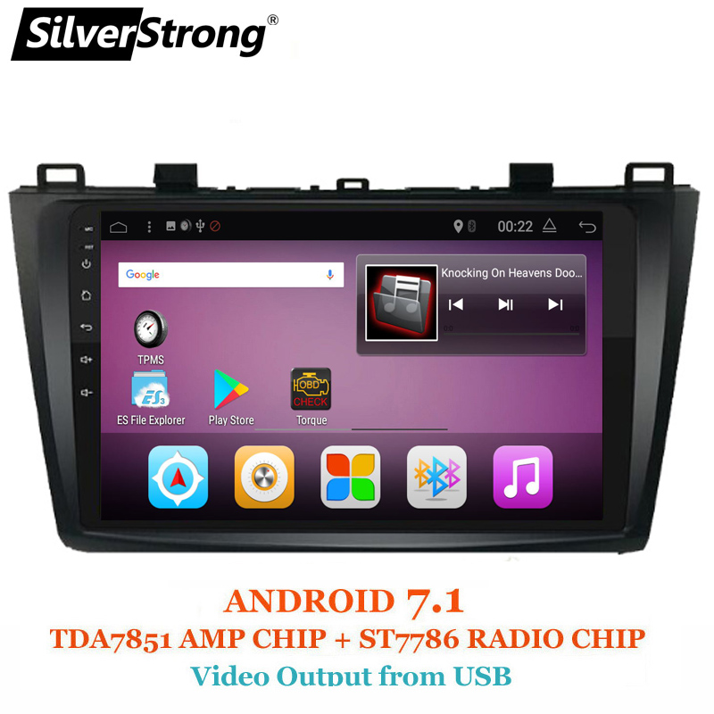 SilverStrong Android7.1 9inch Car DVD for Mazda 3 Axela ips Radio Car Android 7.1 with Navigation Stereo Audio(no DVD) гардемарины 3 dvd
