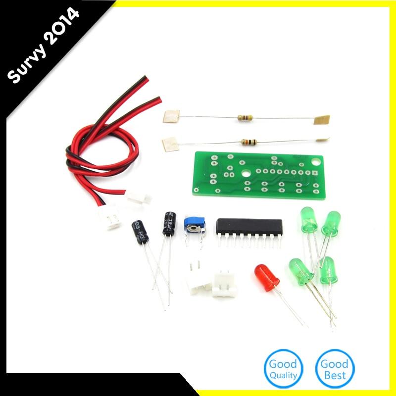 Electronic Kit Parts 5mm RED Green LED Level Indicating 3.5-12V KA2284 DIY KIT Audio Level Indicator Suite Trousse DIY