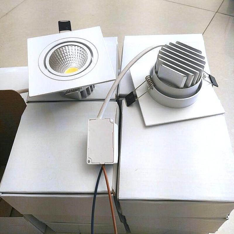 30X высокий яркий светодиодный светильник 10 Вт теплые/холодный белый Светодиодный прожектор встраиваемый потолочный светильник AC 110 В/ 220 В д...