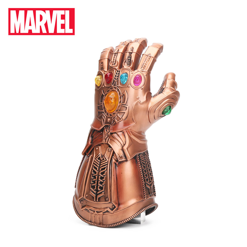 2018 Avengers 3 Infinity War Thanos Gauntlet Cosplay Glove Gold Superhero Thanos Glove Halloween Party Props Latex Marvel Toys marvel avengers infinity war thanos gauntlet action figures cosplay superhero iron man anime avengers thanos glove