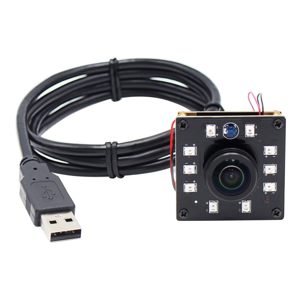 1080 P Cmos Ov2710 30/60/120fps Mini Nachtsicht Ir Usb Kamera Modul Mit Weitwinkel 5mp 1,56mm Panorama Objektiv Für Industrie Weniger Teuer