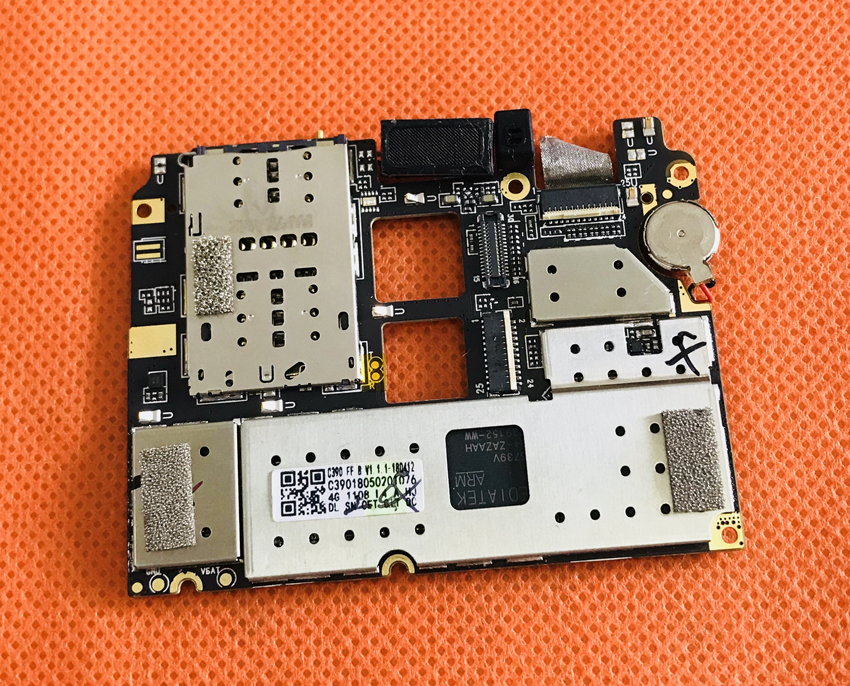 Used Original mainboard 3G RAM 16G ROM Motherboard for Umidigi A1 Pro MT6739 Free shipping