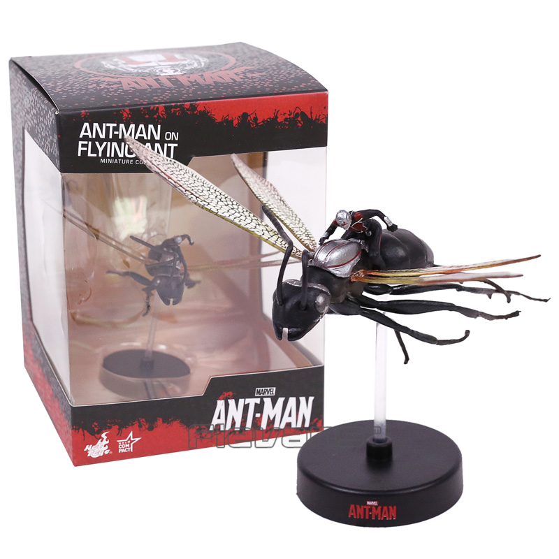 цена на ANT MAN on Flying Ant Miniature Collectible PVC Figure Model Toy 8cm