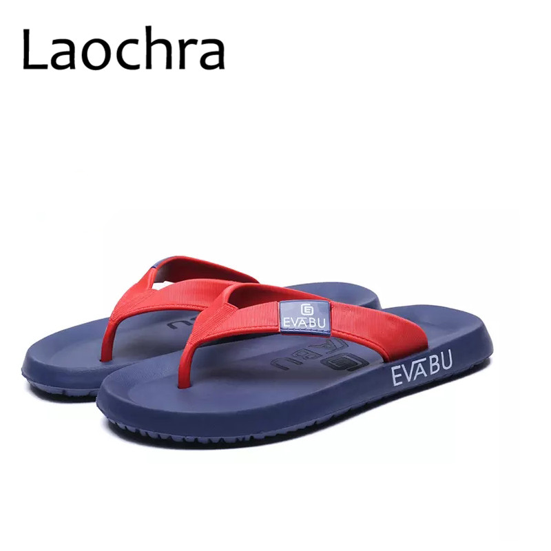 LAOCHRA Big Size 45 Men Fashion Slippers Ins Famous Outdoor Summer Flip Flops New Arrival Beach Soft Comfortable Casual Flats new arrival star same paragraph woman slippers summer plus size comfortable attractive sapatos hot sales soft tenis feminino