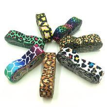 Bande élastique léopard de 14 ans, 16mm de largeur, ceinture d'emballage cadeau, fête de mariage, embellissement de noël, ruban, accessoires de couture, 7 couleurs