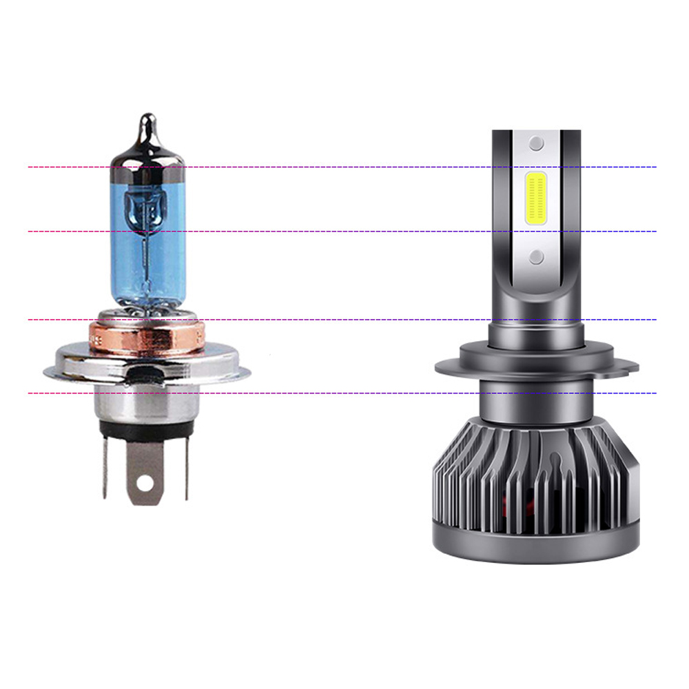 Image 2 - Castaleca Car Headlight LED H7 H4 LED H1 H11 H3 H13 9005 9006 9007 Auto Headlamp Canbus COB Car Lights Bulbs 72W 8000LM-in Car Headlight Bulbs(LED) from Automobiles & Motorcycles