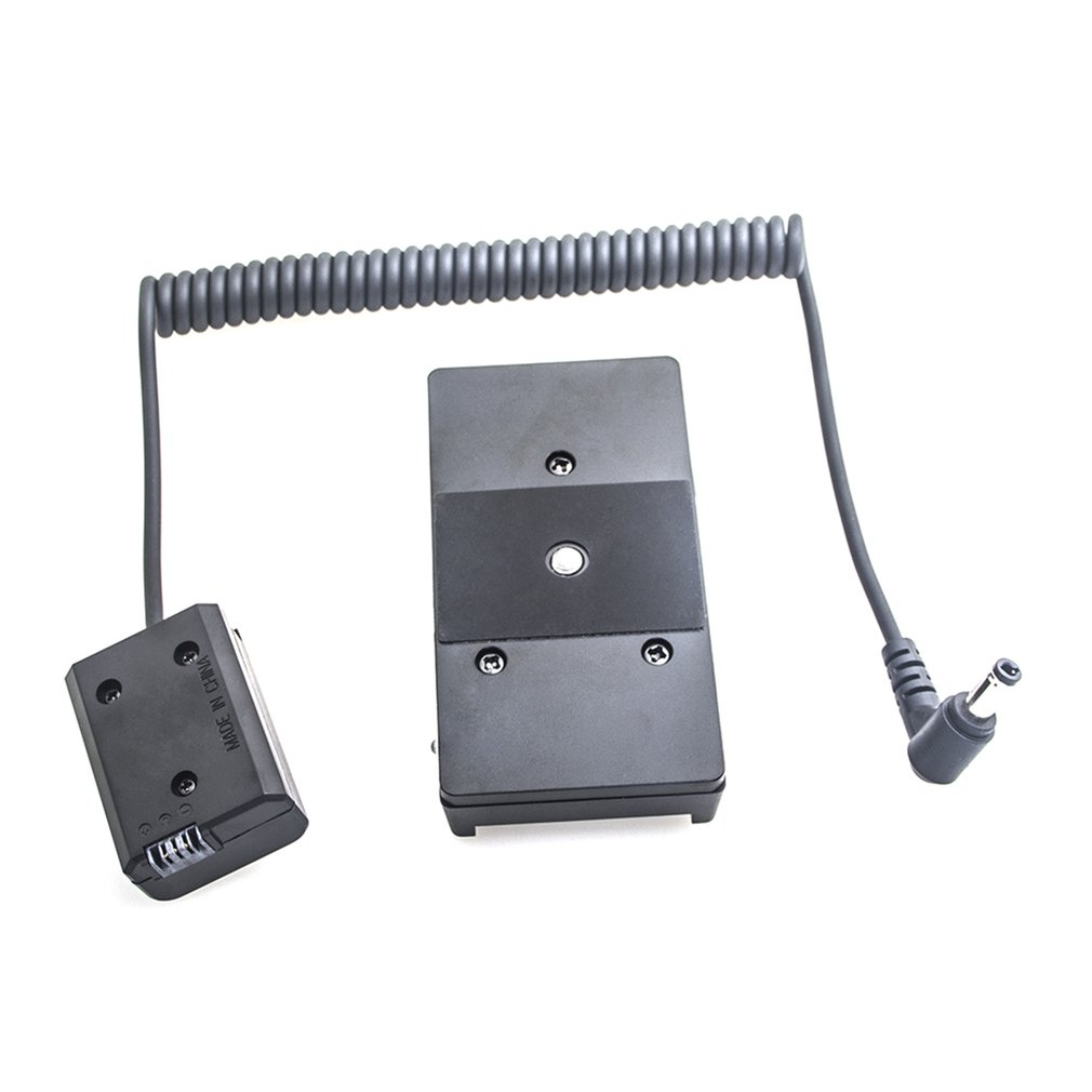 Power Adapter NP F970 to NP FW50 Dummy Battery Mount Plate Adapter Spring Cable Power Supply and Accessories for Sony in Photo Studio Accessories from Consumer Electronics