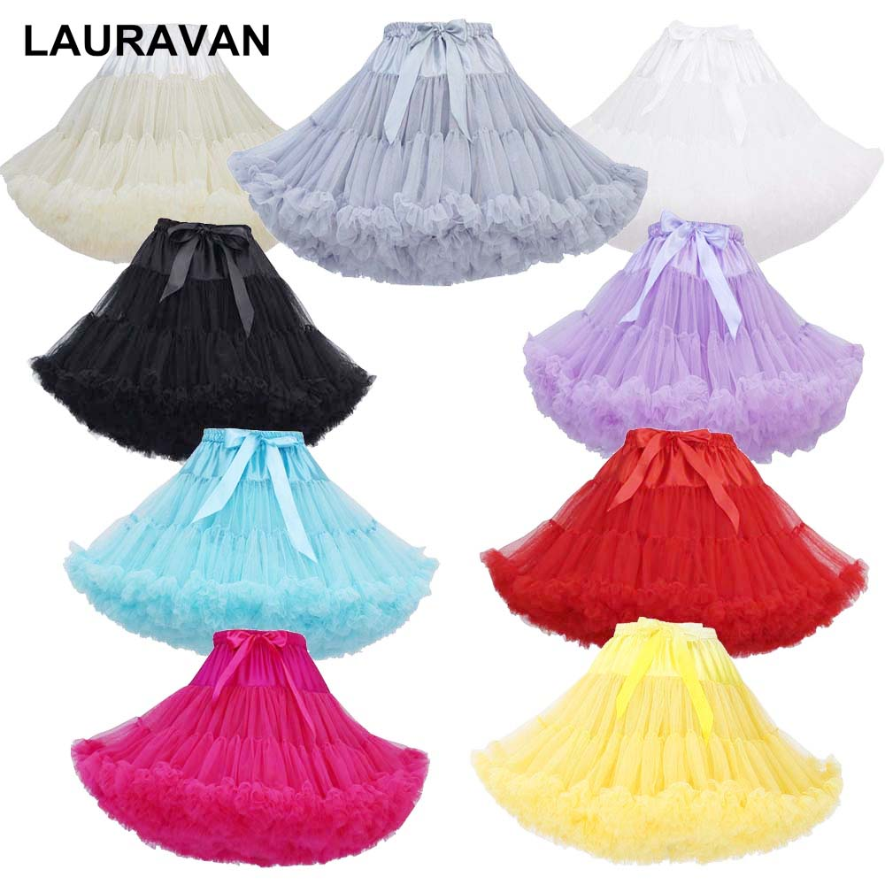 Short Puffy Cosplay Petticoat Crinoline Bridal Petticoat For Opera Evening Party Prom Wedding Ball Dresses Tutu Under Skirt