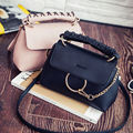 2016 New Vintage Small Women Leather Shoulder bag Girls Crossbody Messenger bag Lady Clutch Handbag and Purse Sac a epaule Bolso